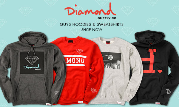 Diamond Supply Hoodiess