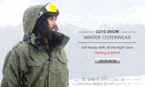 Guys Snow Outerwear