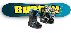 Kids Snowboard Packages