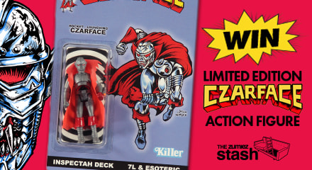Use Zumiez Stash points for a chance to win a Limited Edition Czarface x Killer Bootlegs Action Figure.