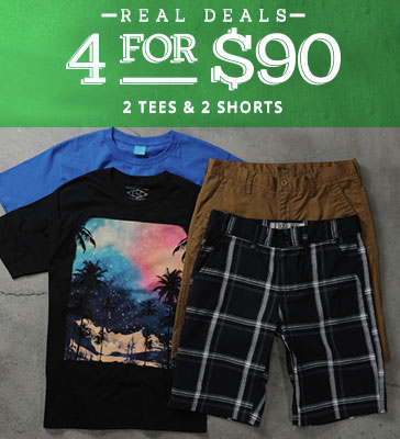 mens outfit short deal