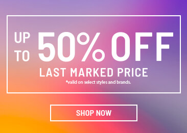 Sale up to 50% Off Last Marked Price