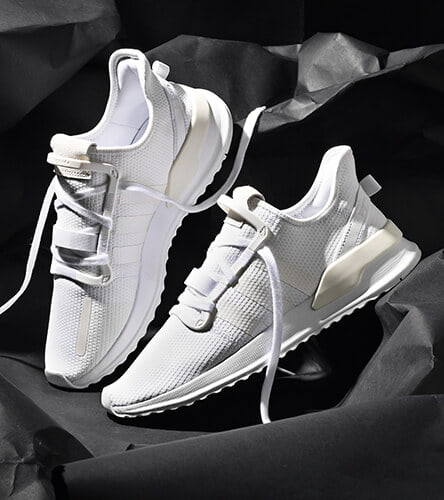 All adidas featuring the U Path runner all white