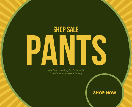 Sale pants and jeans for men with an assortment of deals and discounts on top brands and styles.