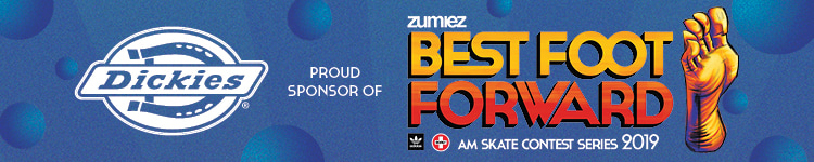 Dickies Proud Sponsor of Zumiez Best Foot Forward Skate Contest Series 2019