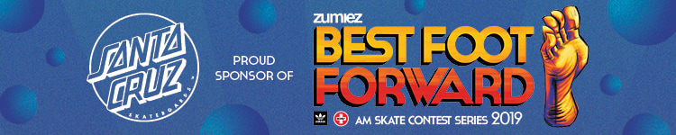 Santa Cruz Proud Sponsor of Zumiez Best Foot Forward Skate Contest Series 2019