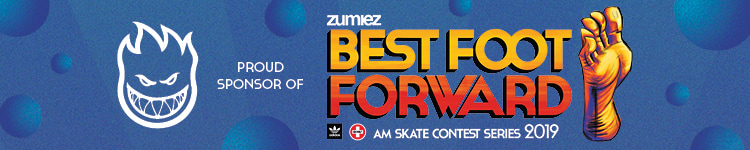 Spitfire Wheels Proud Sponsor of Zumiez Best Foot Forward Skate Contest Series 2019