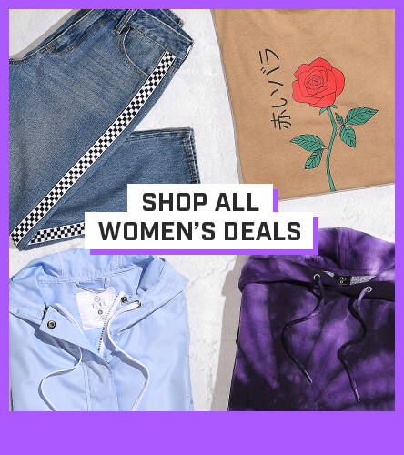 Shop women's clothing package deals where you can bundle and save big on tees and tops.