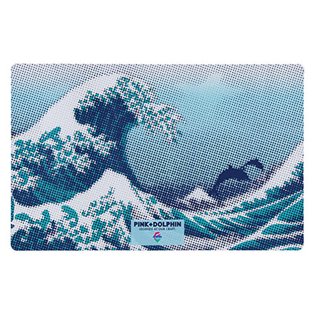 Exclusive Pink Dolphin Desk Pad