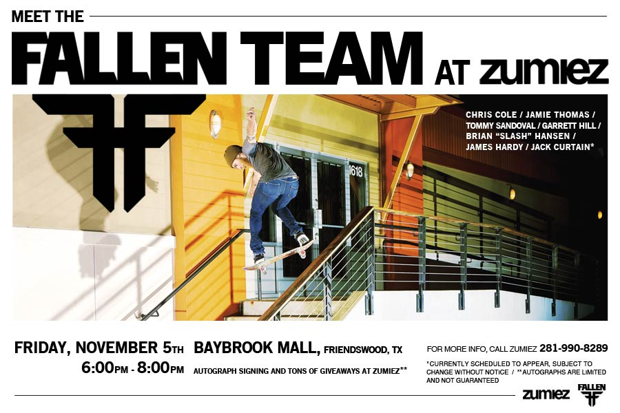 Fallen Team at Zumiez
