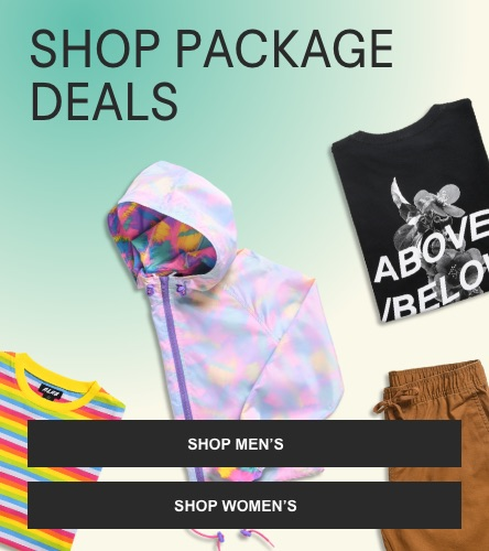 Buy and save with package deals on men's and women's tees, hoodies and more. Full discount applied in bag.