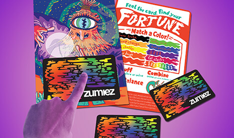 Buy a Zumiez gift card to use online or at your local Zumiez!