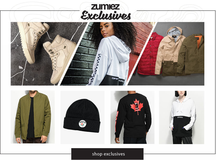 Shop Zumiez Exclusives
