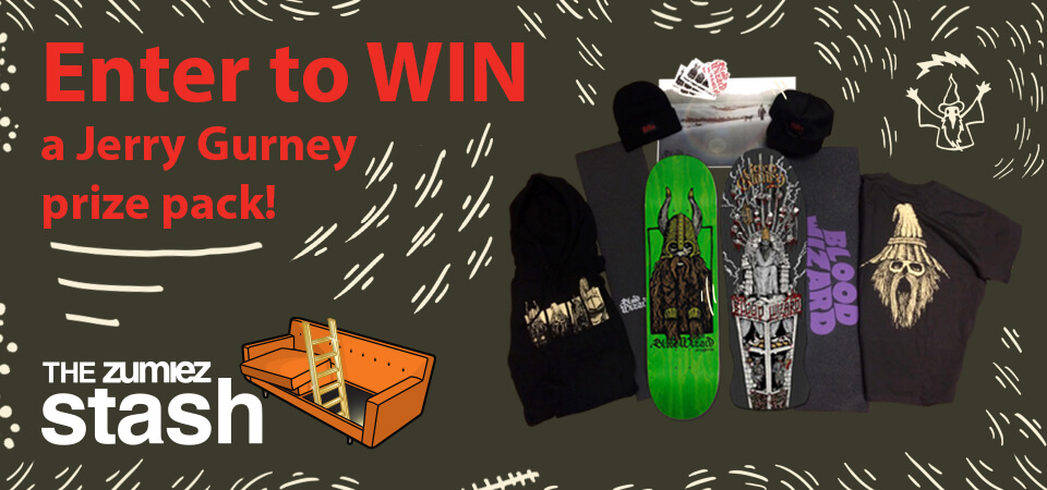Enter to Win a Jerry Gurney Prize Pack