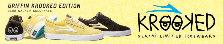 Lakai Griffin Krooked Edition