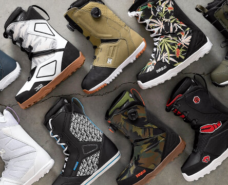 Snowboard boots from top brands like 32, Vans, DC, and Burton. Find 2019-2020 lace up, quick lace, and boa boots at Zumiez.