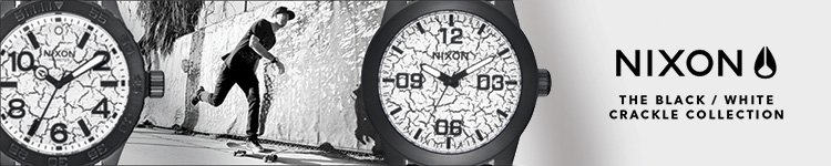 Nixon - The Black/White Crackle Collection