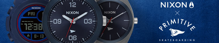 Nixon x Primitive Watches