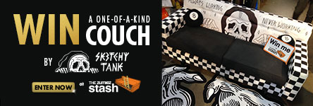 Win a One of a Kind Couch from Sketchy Tank