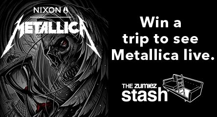 Use points to enter for a chance to win a Trip to See Metallica Live from Nixon