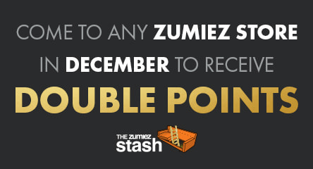 Earn points by visiting your local Zumiez with the Zumiez Stash App