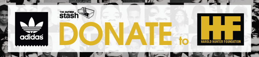Use points to donate a pair of adidas shoes to the Harold Hunter Foundation.