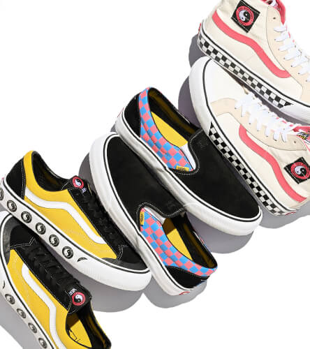 Shop Vans shoes, featuring the new Vans x T&C Surf collection, exclusive to Zumiez and T&C.