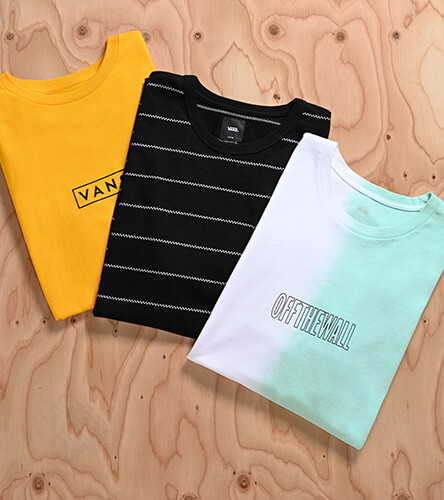 Shop all tee's featuring Vans t-shirts