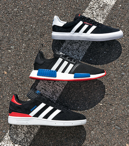 Shop all men's Adidas shoes featuring the Zumiez exclusive NMD