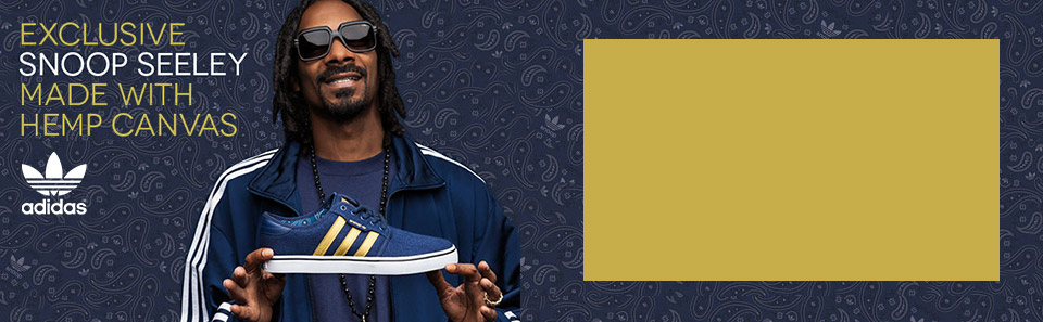 Adidas Snoop landing page seeley shoe