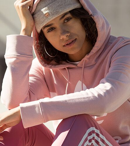 Get a monochramatic look in adidas with hoodies, leggings, beanies, and more styles in hot seasonal colors.