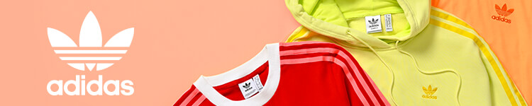 Women's adidas, featuring new tees and hoodies in bold neon colors.