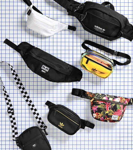 Women's & Men's fanny packs from Adidas, Jansport, Herschel and more brands