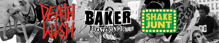 Death Wish - Baker - Skate Junt