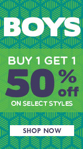 BOGO 50 on Boys Product