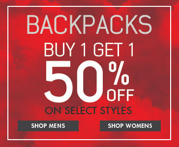 Backpacks - Mens and Womens - BOGO 50