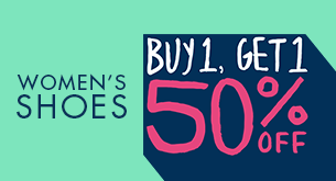 Womens Sale Shoes Buy 1 Get 1 50%
