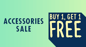 Accessories Sale Buy 1 Get 1 Free