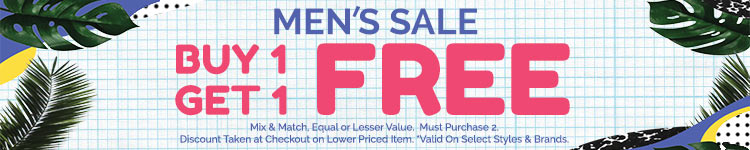 Buy One Get One Free - Mens