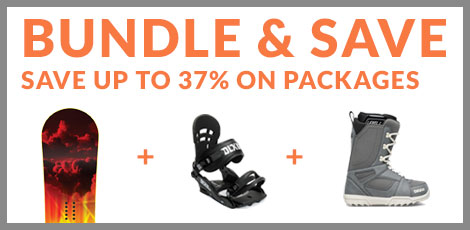 Snowboard Packages - Bundle and Save