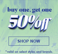 Shop All Buy one Get one 50% Off