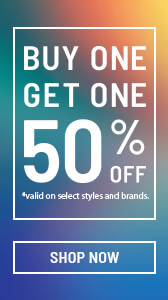 Sale - Buy One Get One 50% off!