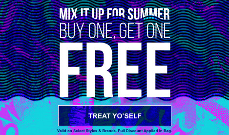Mix it up for the summer and shop the BOGO Free sale and save on warm weather styles from your favorite brands. Valid on select styles and brands. Full discount applied in bag. Shop now.