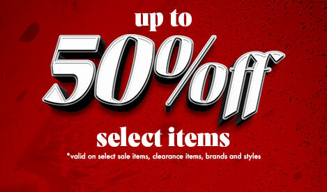 Boxing Day Sale. Up to 50% off Select Items. Valid on select sale items, clearance items, styles and brands.