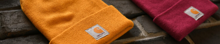 Beanies, hats and more from your work-wear favorite, Carhartt.