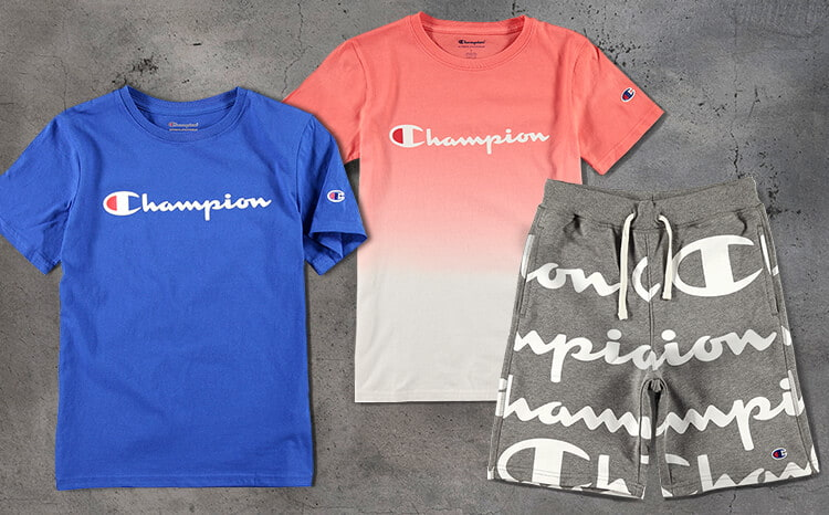 78ba2e57de16 Boys clothing and accessories from Champion including tees