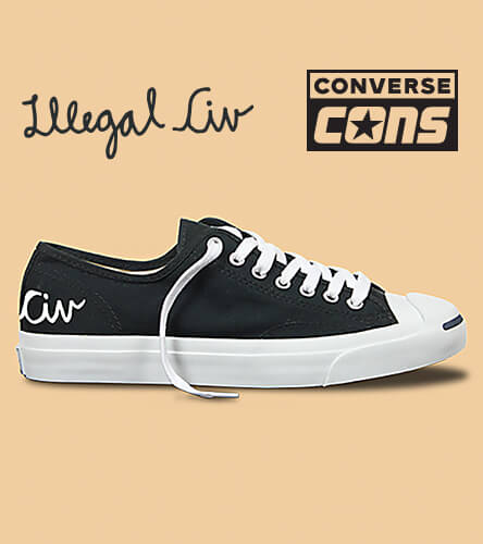 Converse & Illegal Civ one star shoe collaboration and more.