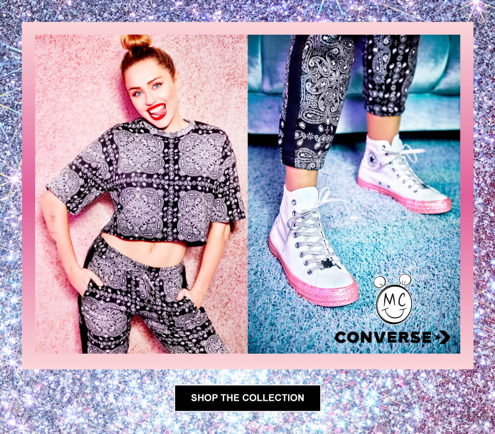 9ec8d01aed6111 Miley Cyrus and Converse Collection