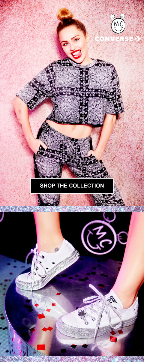 Miley Cyrus and Converse Collection