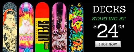 Deals on Skate Decks